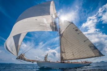 Картинка корабли парусники корабль пейзаж паруса океан