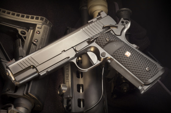 Картинка оружие пистолеты пистолет полуавтоматический custom nighthawk