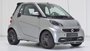 обоя smart brabus 10th anniversary special edition 2013, автомобили, brabus, edition, special, 2013, anniversary, 10th, smart