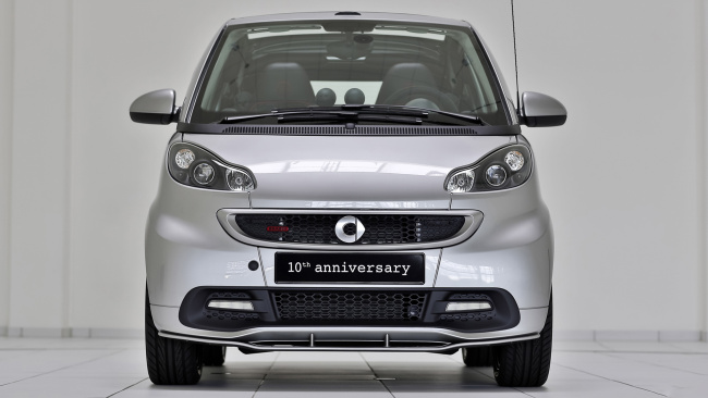 Обои картинки фото smart brabus 10th anniversary special edition 2013, автомобили, brabus, special, anniversary, 10th, smart, 2013, edition