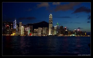 Картинка города гонконг китай
