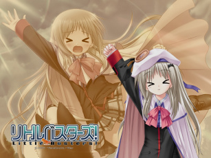 Картинка little busters аниме