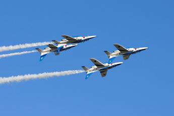 Картинка авиация боевые самолёты полёт вираж