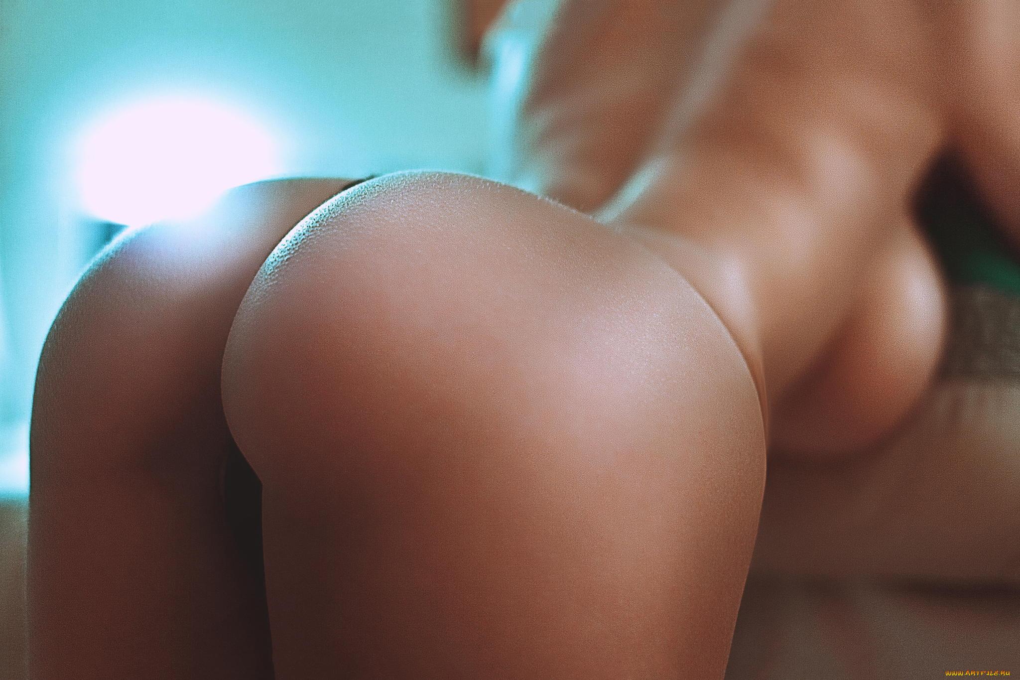 грудь очень фото попи большие скалготками