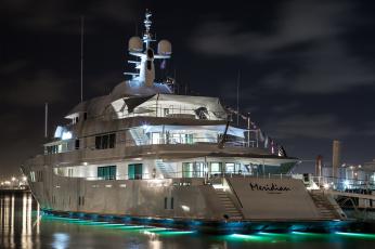 обоя meridian yacht - fort lauderdale, корабли, Яхты, суперяхта