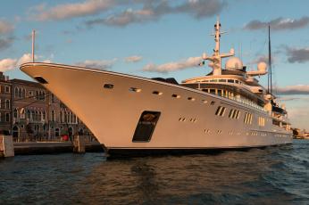 обоя my tatoosh yacht - venice,  italy, корабли, Яхты, суперяхта
