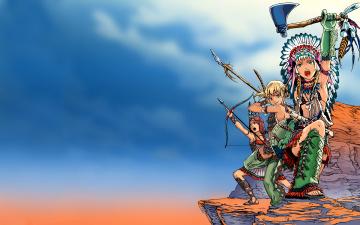 Картинка original аниме оружие +техника +технологии