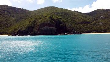 обоя природа, побережье, вода, холмы