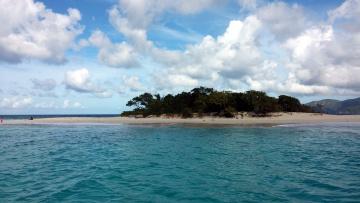 обоя природа, побережье, вода, островок