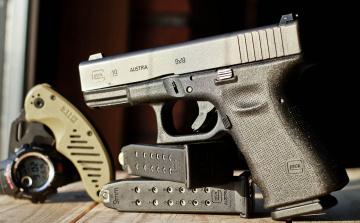 обоя glock 19, оружие, пистолеты, ствол