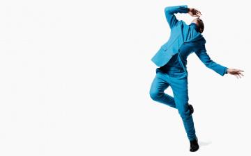 обоя мужчины, sean opry, модель, прыжок, костюм