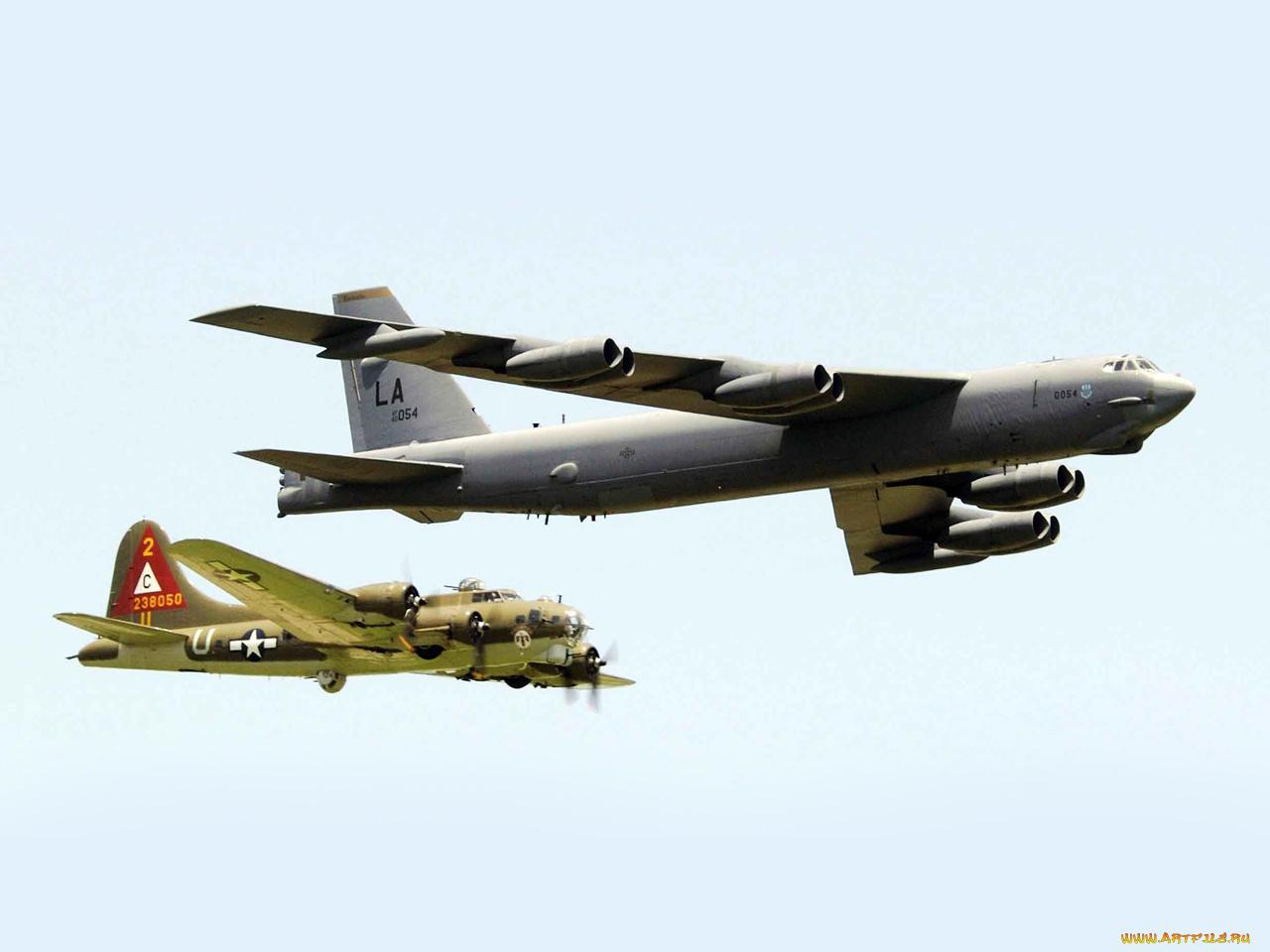 Бомбардировщик b-52  № 2853136  скачать