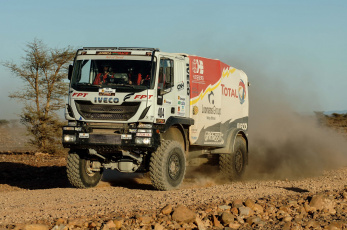 Картинка спорт авторалли пустыня грузовик ралли