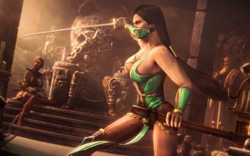 Картинка mortal+kombat+ 2011 видео+игры меч
