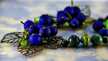 Картинка разное украшения +аксессуары +веера бижутерия украшение фон бусы серьги ожерелье