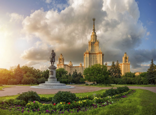 обоя москва, города, москва , россия, университет