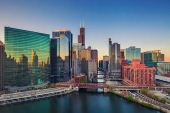Картинка города Чикаго+ сша Чикаго город