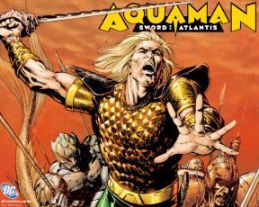 обоя aquaman, рисованные, комиксы
