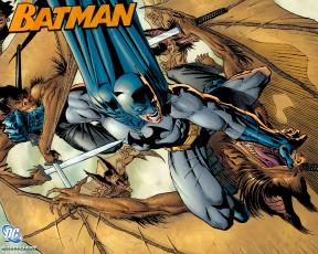 обоя batman, рисованные, комиксы