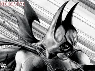 обоя batman, detective, рисованные, комиксы