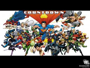 обоя countdown, рисованные, комиксы