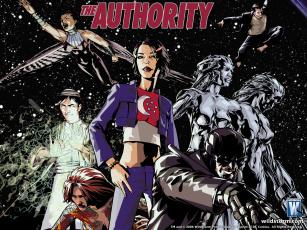 обоя the, authority, рисованные, комиксы