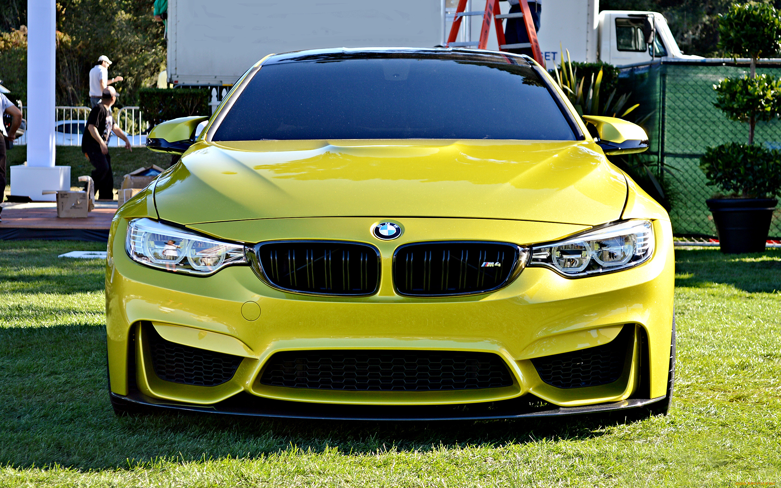 BMW M3 Желтое  № 844726 без смс