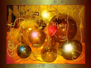 обоя праздничные, шарики