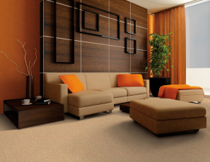 обоя интерьер, гостиная, мебель