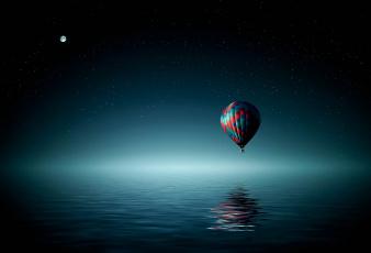 обоя авиация, воздушные шары, аэростат