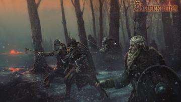 обоя ancestors, видео игры, action, тактика, стратегия