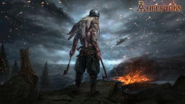 обоя ancestors, видео игры, стратегия, action, тактика