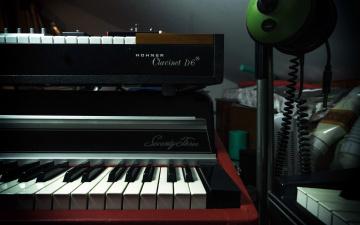 обоя музыка, -музыкальные инструменты, синтезатор