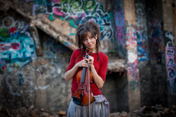 Картинка lindsey stirling музыка скрипка