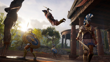 обоя assassin's creed ,  odyssey, видео игры, action, кредо, убийцы, шутер, одиссея, odyssey, assassins, creed