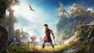 обоя assassin's creed ,  odyssey, видео игры, assassins, creed, odyssey, одиссея, кредо, убийцы, action, шутер