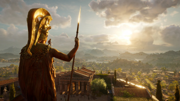 обоя assassin's creed ,  odyssey, видео игры, одиссея, odyssey, assassins, creed, кредо, убийцы, action, шутер