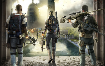 обоя tom clancy`s the division 2, видео игры, шутер, action, tom, clancys, the, division, 2