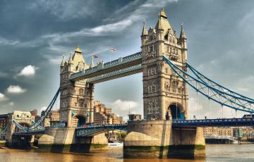 Картинка london tower bridge города лондон великобритания темза тауэр мост