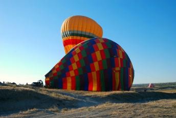 обоя авиация, воздушные шары, шары, перед, полетом, воздушные