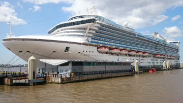 обоя caribbean princess, корабли, лайнеры, круиз, лайнер