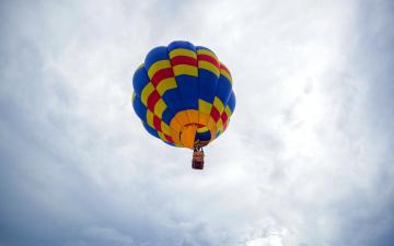 обоя авиация, воздушные шары, полет
