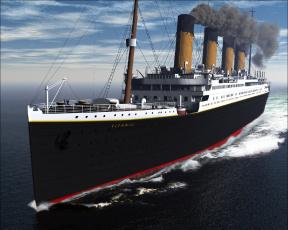 Картинка титаник корабли 3d