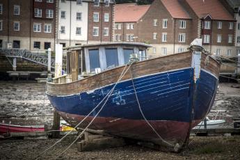 обоя корабли, баркасы ,  буксиры, старый, баржа, корабль