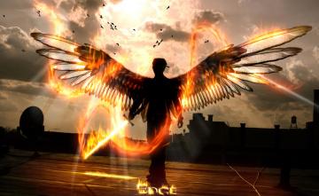обоя фэнтези, ангелы, ангел