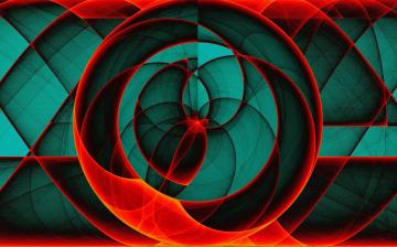 обоя векторная графика, графика , graphics, цвет, фон, форма