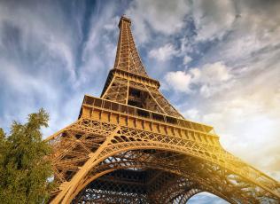 обоя города, париж , франция, простор