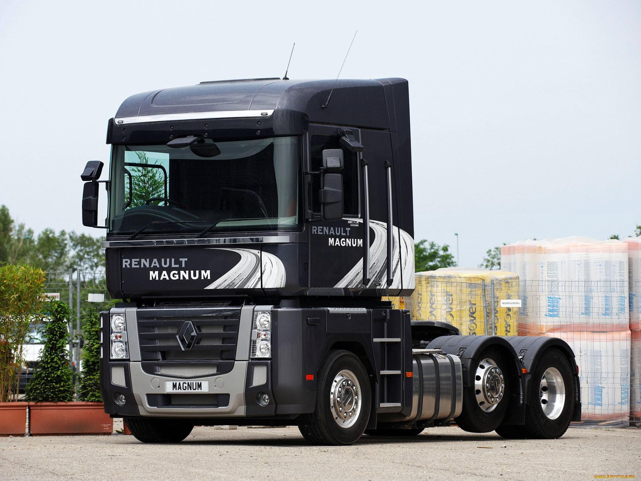 сведения картинки грузовики рено магнум фото начальной стадии