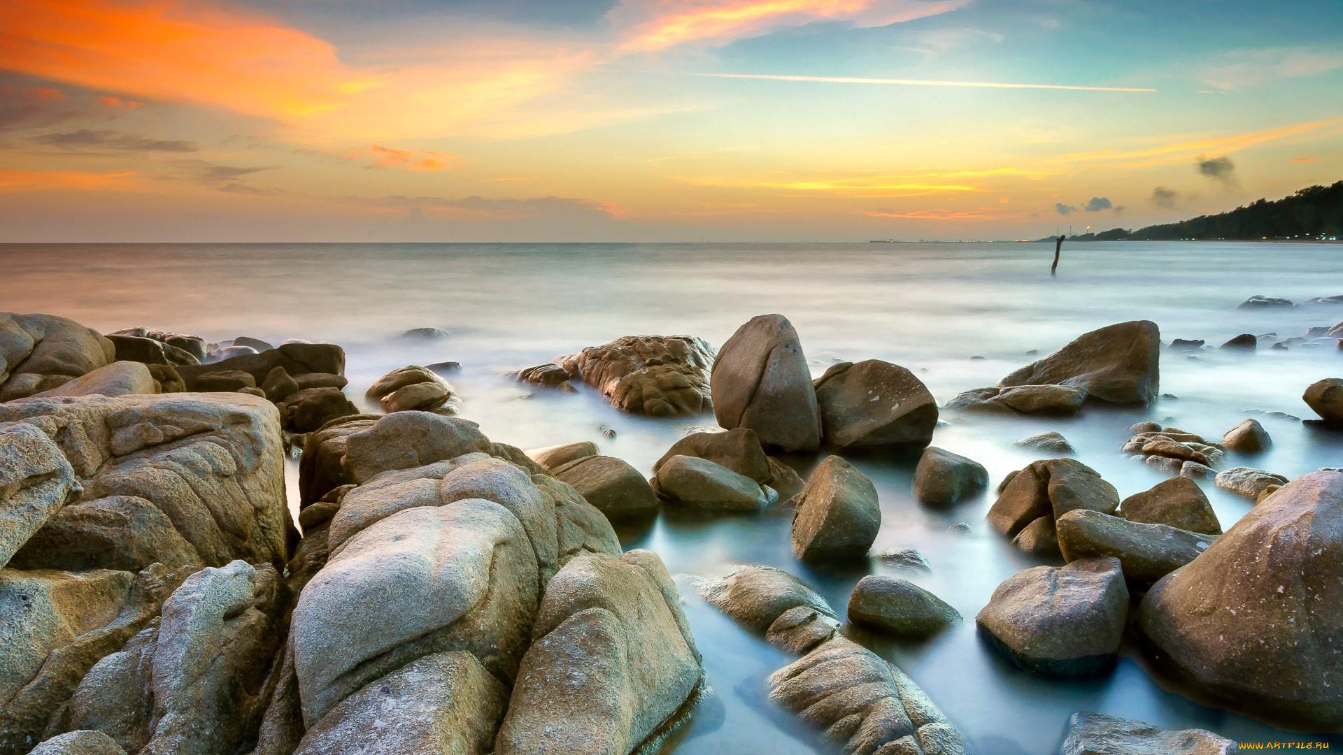 горизонт камни вода  № 2556016 бесплатно