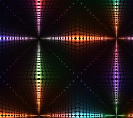 обоя векторная графика, графика , graphics, lights, огни, colors, rainbow, neon, неоновый, фон, background, abstract